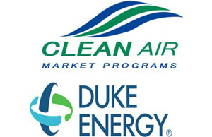 Clean Air Market Programs/Duke Energy logos