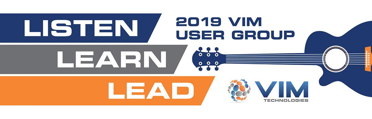 2019 VIM User Group Header