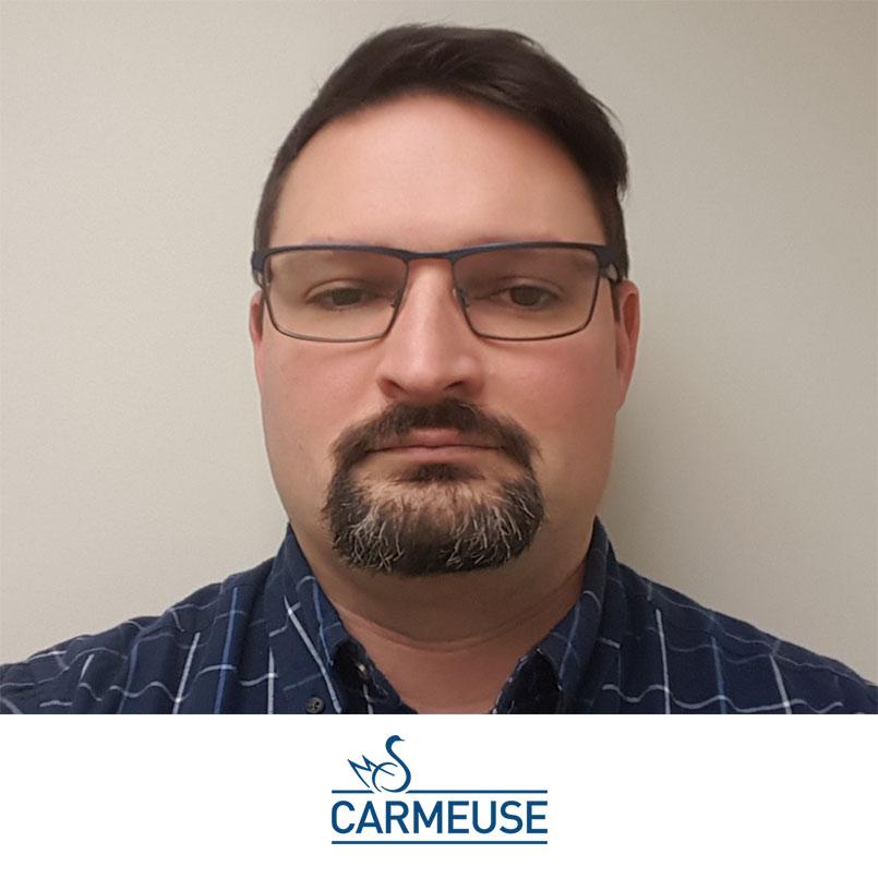 dan craft headshot with carmeuse logo
