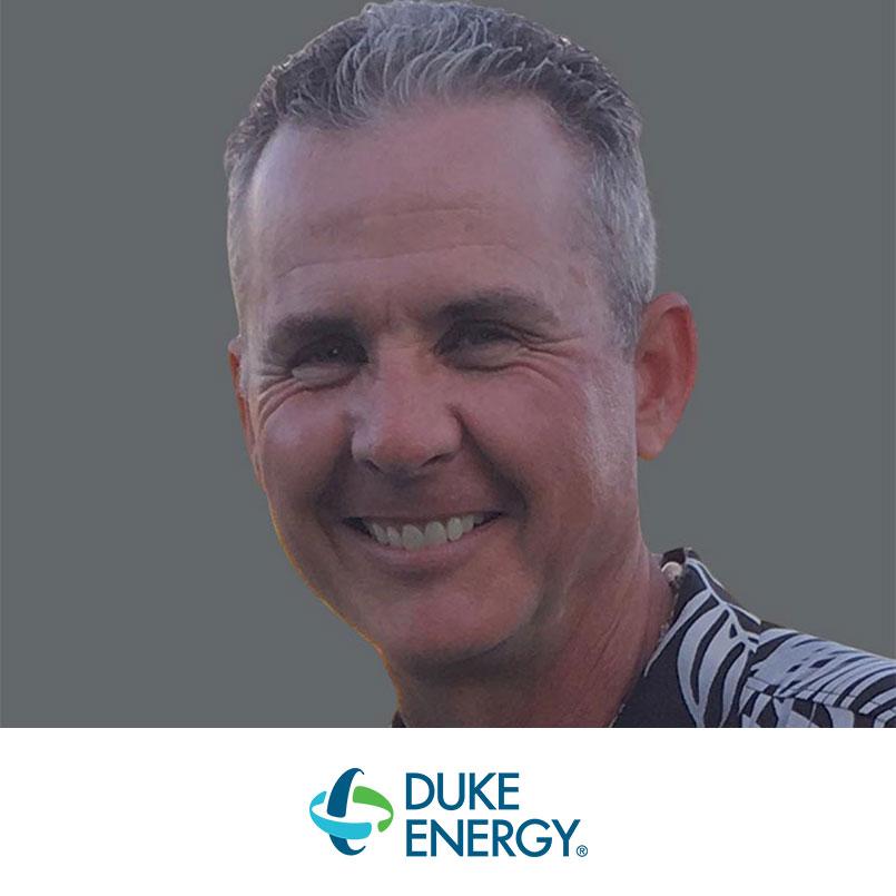 scott millsaps headshot and duke energy logo