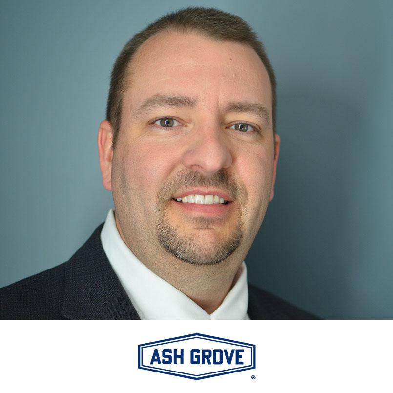 scott nielson headshot and ash grove logo