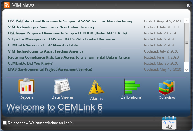 How the CEMLink Welcome Screen Saves You Time & Energy