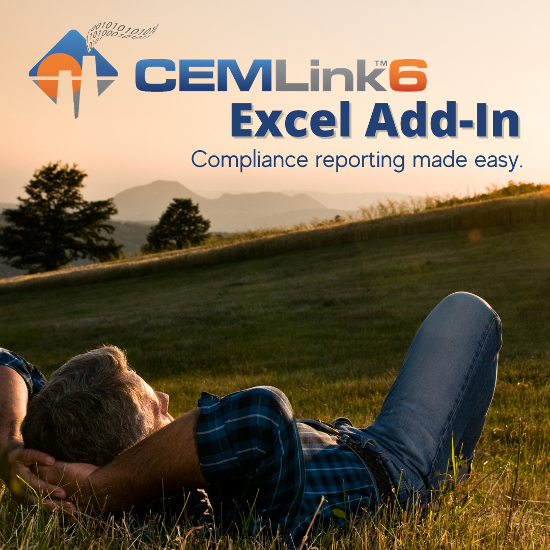 CEMLink6 Excel Add-In: CEDRI Reports Are Just a Few Clicks Away